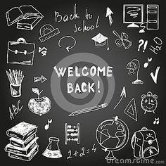 School board freehand drawing by Osipovd, via Dreamstime