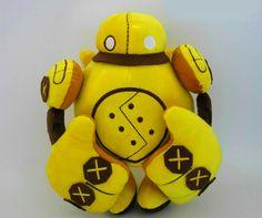 Blitzcrank Legaue of Legends LoL Plush Toy Large Stuffed Pillow Doll Game Robot Figure
