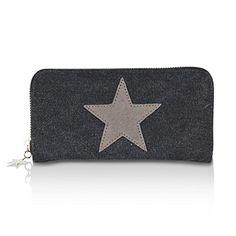1ce30499678b6 Glamexx24 Geldbörse mit Stern Muster Portemonnaie Vintage Design  Brieftasche Geldbeutel. Geldbörse mit Stern Muster Brieftasche