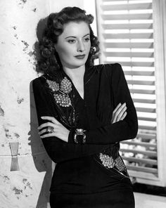 Kara Lancaster Clarke, Miranda's power-hungry mother plotting ways to get 'what she deserves.'  (Barbara Stanwyck, Paramount Pictures Photograph  - Barbara Stanwyck, Paramount Pictures Fine Art Print)