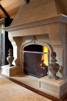 Grand Fireplace - I AM SPEECHLESS.