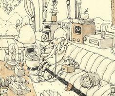 Mattias Inks: Lazy Sunday