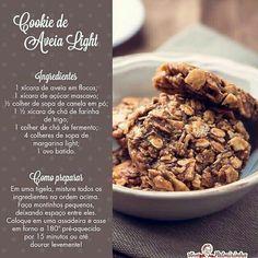 Cookie de aveia light