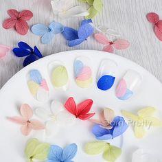 $6.45 12 Colors/box 3D Nail Art Dried Flower Decoration DIY Preserved Flower Nail Decoration - BornPrettyStore.com