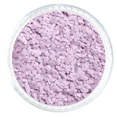 Light Lilac Hexagon .040 – Glitties solvent resistant glitter   #solvent #resistant #pastel #glitter
