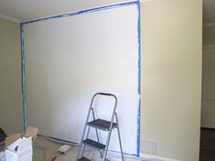 Dry Erase Wall for office and girls' room!