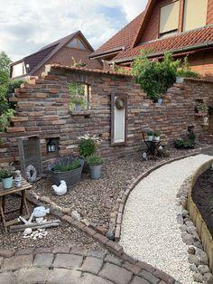Backyard Paradise, Backyard Retreat, Backyard Landscaping, Outdoor Walls, Outdoor Living, Outdoor Decor, Design Jardin, Garden Design, Home Vegetable Garden