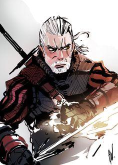 Geralt of Rivia by Hardedge-Maelstrom on DeviantArt
