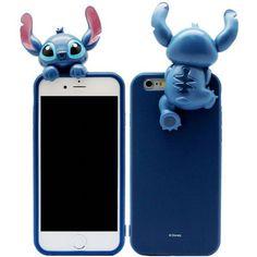 Genuine Disney Art Jelly Stitch Case iPhone 6 Case iPhone 6 Plus Case #Disney