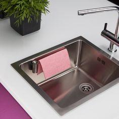 Magnetic Kitchen Cloth Holder Spültuchhalter bei ikarus