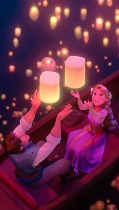 Eugene and Rapunzel …