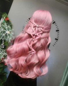 Inspiring Pastel Hair Color Ideas – My hair and beauty Pretty Hair Color, Coloured Hair, Body Wave Hair, Aesthetic Hair, Dream Hair, Crazy Hair, Rainbow Hair, Pretty Hairstyles, Scene Hairstyles