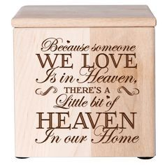 Personalized Cremation urn for ashes,wood cremation urn,wood urn for ashes, Baby cremation urn,Keepsake urn box,Memorial box Memorial Urn by Inlovingmemorygifts on Etsy