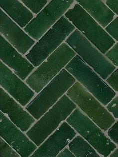 Emerald green tiling