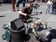 Amazing Musician New York City Union Square... Crazy!