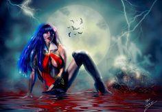 Vampirella Souls Eater by Sinphie.deviantart.com on @DeviantArt