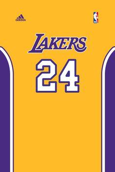 Jersey 24 Lakers Of Kobe Kobe Bryant 24, Lakers Kobe Bryant, Basketball Is Life, Basketball Teams, Lakers Wallpaper, Famous Baseball Players, Adidas Nba, Team Player, Black Mamba