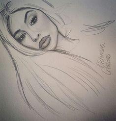 Kylie jenner Style drawing dessin réalisme