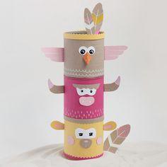 Et pour finir cette petite série de tutoriels pour enfants, voici une idée pour créer un totem coloré et recyclé. Avec peu de matériel et une touche d'imagination, transformez des boîtes de conserves de toutes tailles en rangements ludiques pour … Lire la suite»