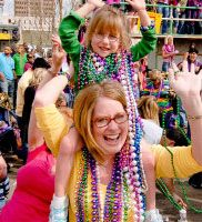 Its time for Mardi Gras! Learn where to party around the great state of Louisiana #mardigras #onlylouisiana