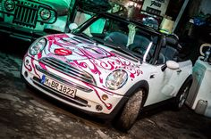 Argentinian artist Pablo Valentino lavished this MINI Cabrio with some real latina flair.