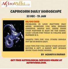 Read Your Capricorn Daily Horoscope to plan your day accordingly. Get Free guidance for the day and everyday.
