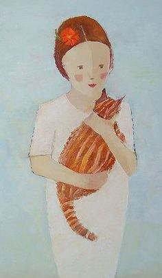 Lily and Tiger by Catriona Millar.