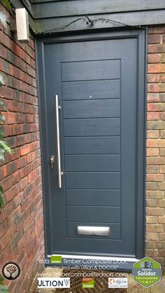 Every Solidor Timber Composite Door comes fitted as standard with Ultion 3 Star Diamond Sold Secure Locks, fully fitted with 12 months Credit Solidor Door, Front Doors, Garage Doors, Door Images, Composite Door, Free Credit, Exterior Doors, 12 Months, Tall Cabinet Storage