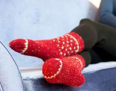 Fairisle Socks free knitting pattern