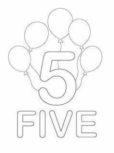 Number Coloring Pages   Mr Printables Design Kids