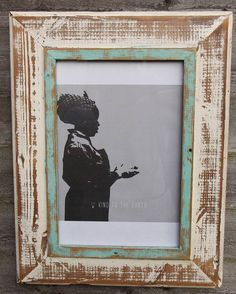 thembi reclaimed wooden frame by dassie | notonthehighstreet.com