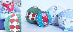 Laden Sie das kostenlose Schnittmuster herunter und folgen Sie der ausführlichen Anleitung, um einen niedlichen Ball zu nähen!