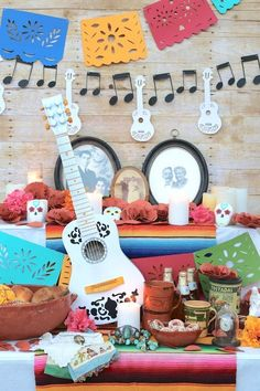 Disney Party, Disney Pixar Coco, Coco party, Coco-inspired party, Kid party, family party, culture party