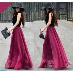 pink gode skirt!