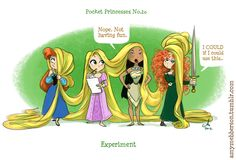 Disney Pocket Princesses!