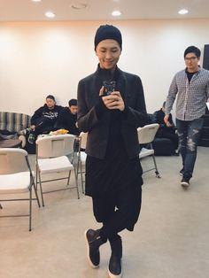 Rap Monster what is he wearing.. - BTS ~ DarksideAnime