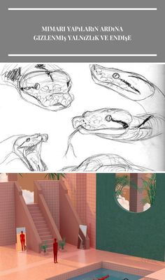 14 Reptile Pencil Drawing Ideas  #CrocodileSketch #Reptiles #SnakeSketch Dessin d'animal 14 Reptile Pencil Drawing Ideas