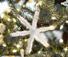 You can make this Twinkling Twig Snowflake Ornament in minutes!