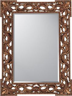 Joey Duncan Rococo Antique Gold Traditional Rectangular Wall Mirror