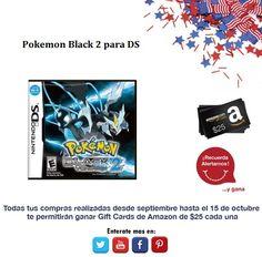 ¿Necesitas actualizar tus juegos para DS, Pokemon versión 2 es una buena opción no crees?   http://amzn.com/B0050SVNSU