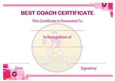 Volleyball certificate sample volleyball certificates free volleyball coaching certificate yadclub Gallery