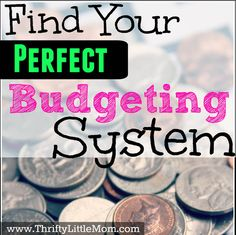 Are you looking to find your perfect budgeting system? The post presents 6 different budgeting methods that might just work for you.