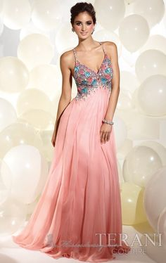 Terani P617 Dress - Available at www.missesdressy.com