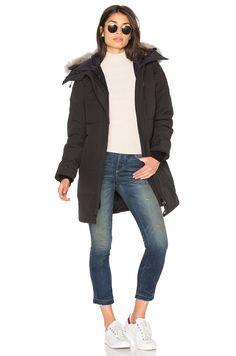CANADA GOOSE Shelburne Parka With Coyote Fur Trim. #canadagoose #cloth #dress #top #shirt #pant #coat #jecket #jacket #shorts #ski