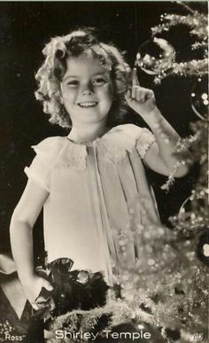 so cute...Shirley Temple