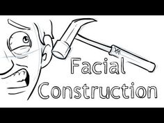 How to draw - Facial Construction