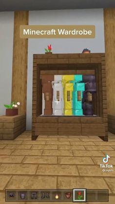 Minecraft Cottage, Easy Minecraft Houses, Minecraft Room, Minecraft Plans, Minecraft Videos, Minecraft House Designs, Minecraft Decorations, Amazing Minecraft, Minecraft Tutorial