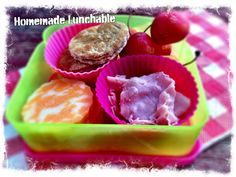 Make your own nutritious Lunchable in 5 minutes.  Great for road trips!  | Jen Haugen RD
