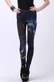 Out-of-this-world travel tights: Universe leggings