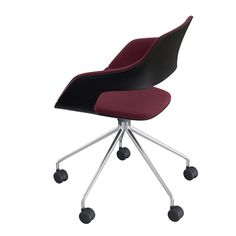 Occo Chair | star base swivel mounted on castors | Desing by jehs+laub| #Wilkhahn | #OCCO